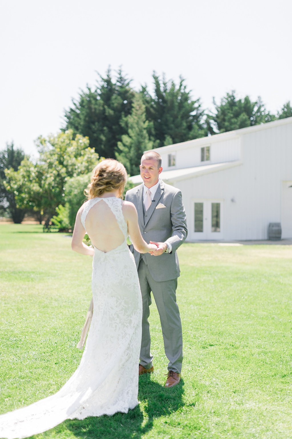 White Barn Inspired Summer Wedding In The Valley of Arroyo Grande, California by Wedding Photographer Madison Ellis (53)