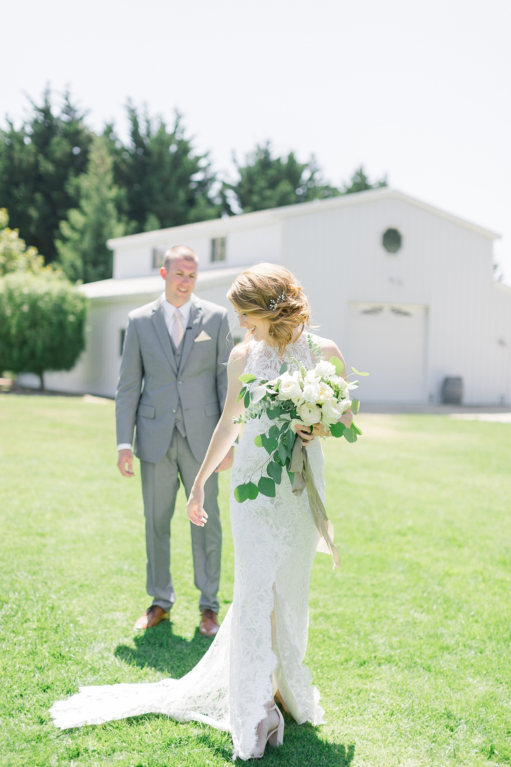 White Barn Inspired Summer Wedding In The Valley of Arroyo Grande, California by Wedding Photographer Madison Ellis (52)