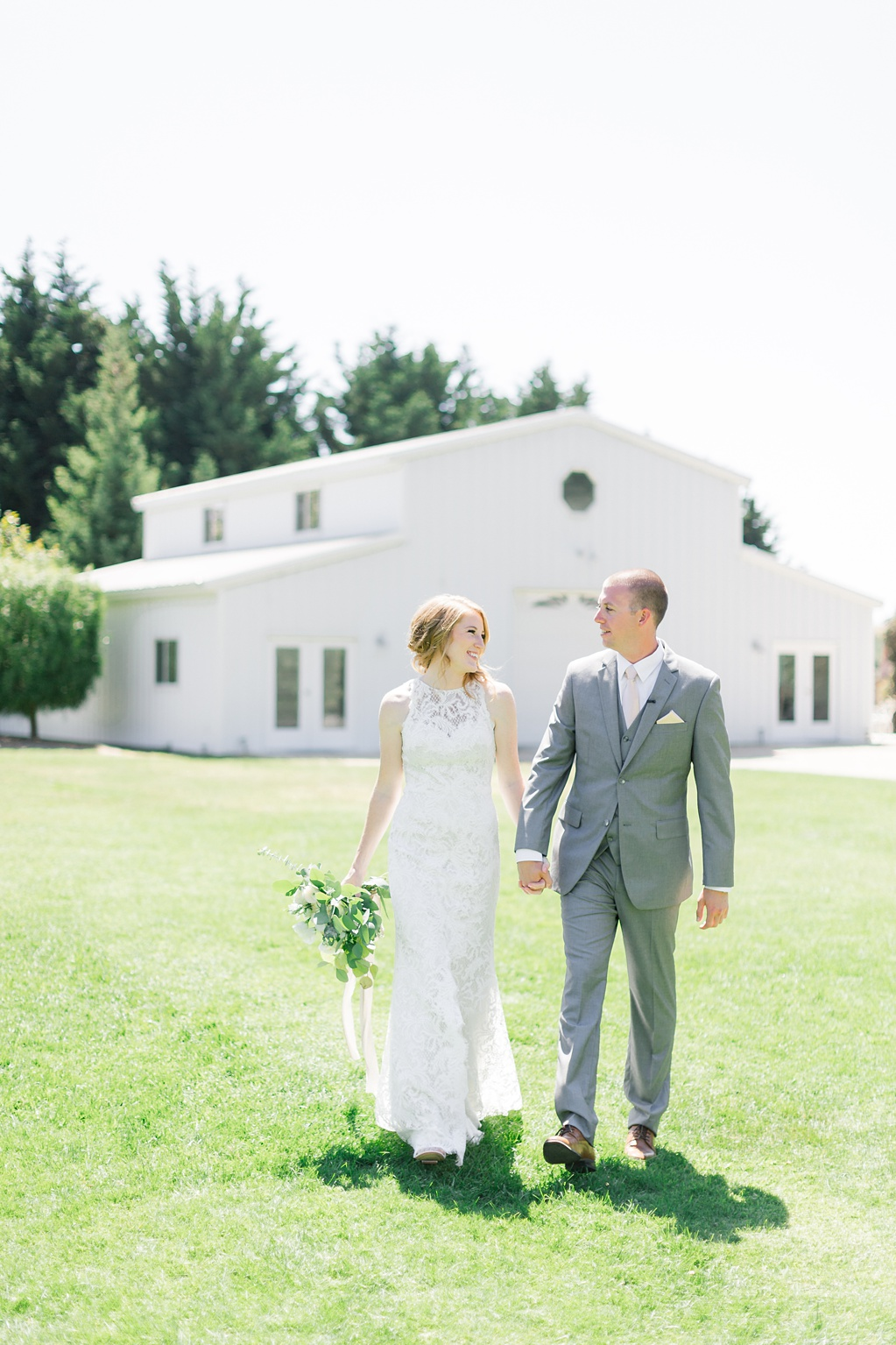 White Barn Inspired Summer Wedding In The Valley of Arroyo Grande, California by Wedding Photographer Madison Ellis (42)