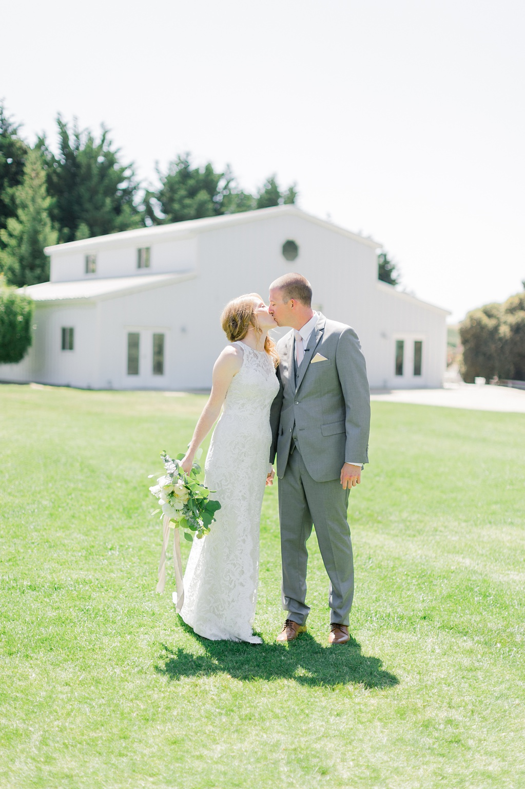 White Barn Inspired Summer Wedding In The Valley of Arroyo Grande, California by Wedding Photographer Madison Ellis (41)