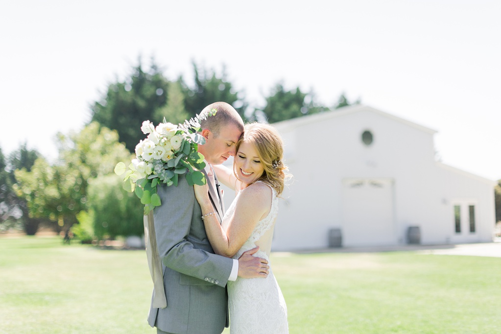 White Barn Inspired Summer Wedding In The Valley of Arroyo Grande, California by Wedding Photographer Madison Ellis (37)