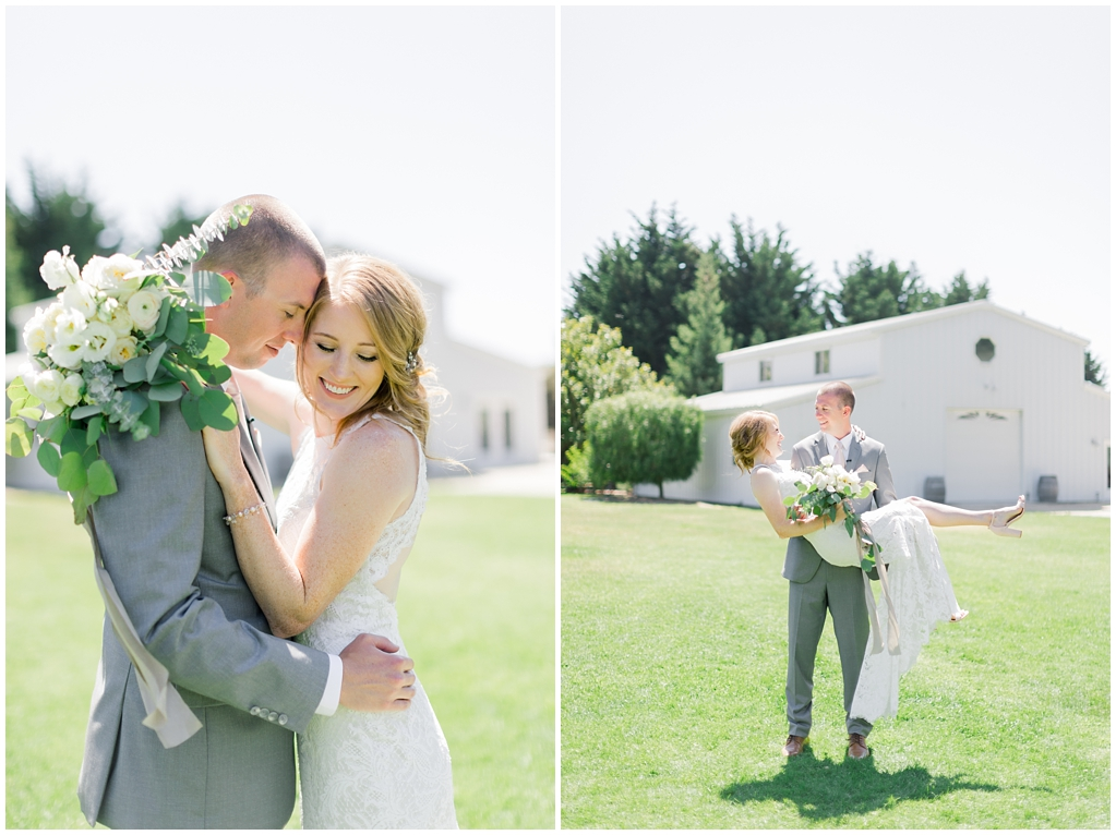 White Barn Inspired Summer Wedding In The Valley of Arroyo Grande, California by Wedding Photographer Madison Ellis (36)