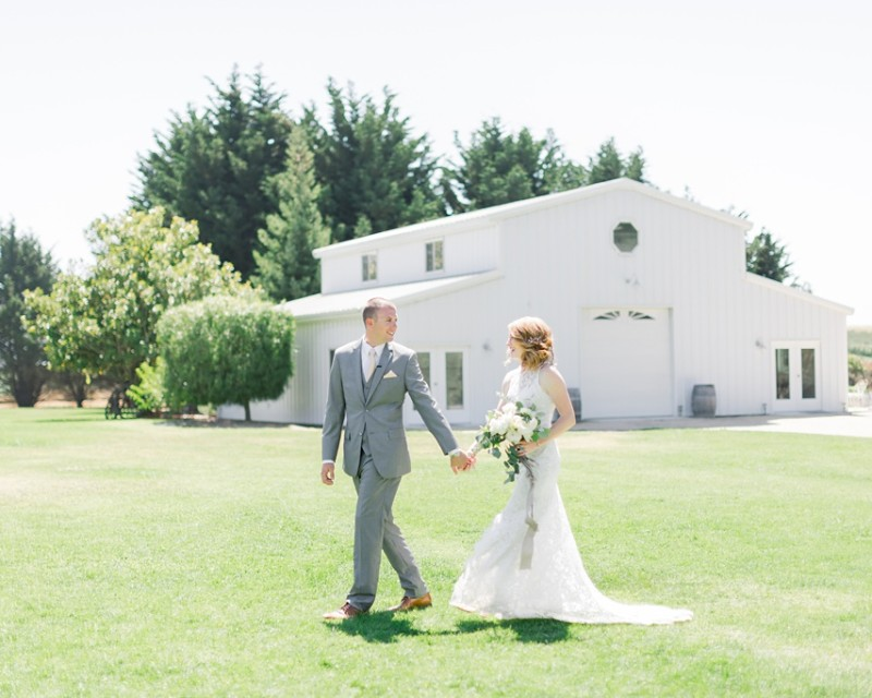 White Barn Inspired Summer Wedding In The Valley of Arroyo Grande, California by Wedding Photographer Madison Ellis. (103)