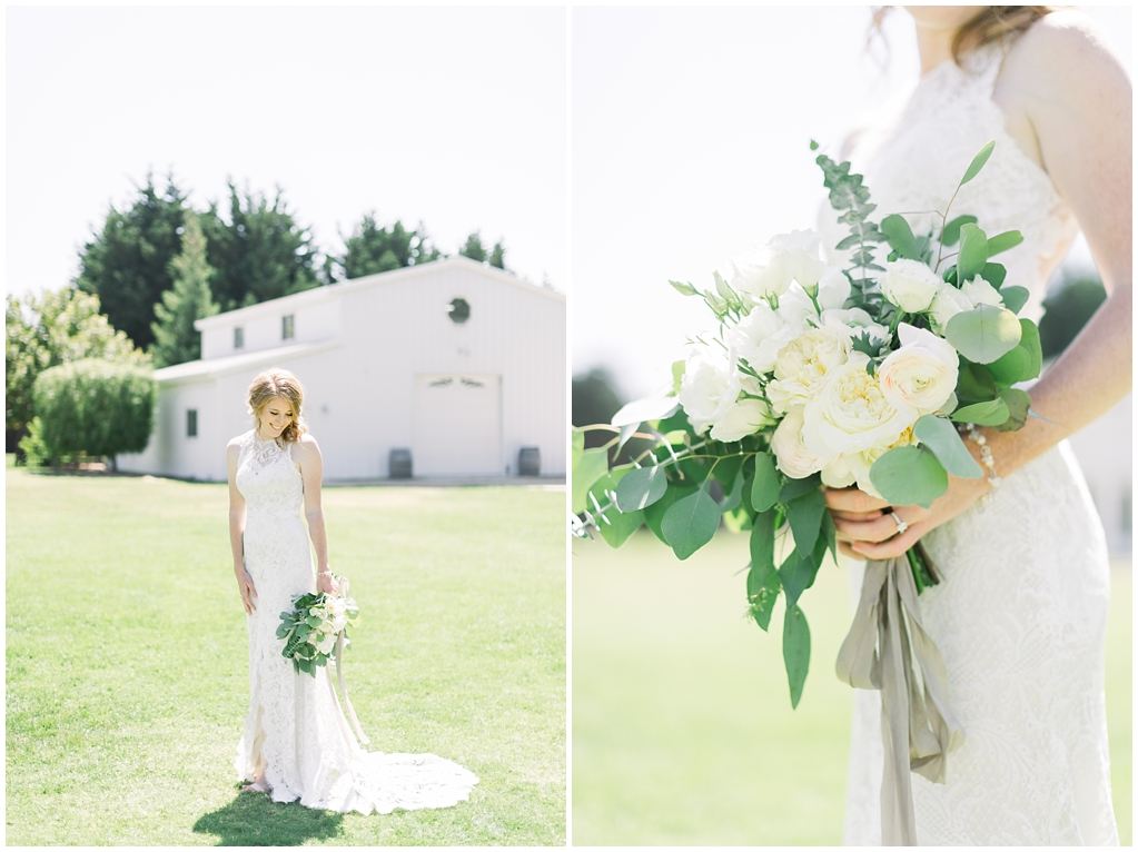White Barn Inspired Summer Wedding In The Valley of Arroyo Grande, California by Wedding Photographer Madison Ellis. (86)