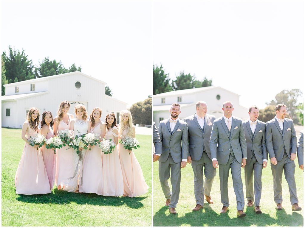 White Barn Inspired Summer Wedding In The Valley of Arroyo Grande, California by Wedding Photographer Madison Ellis. (77)