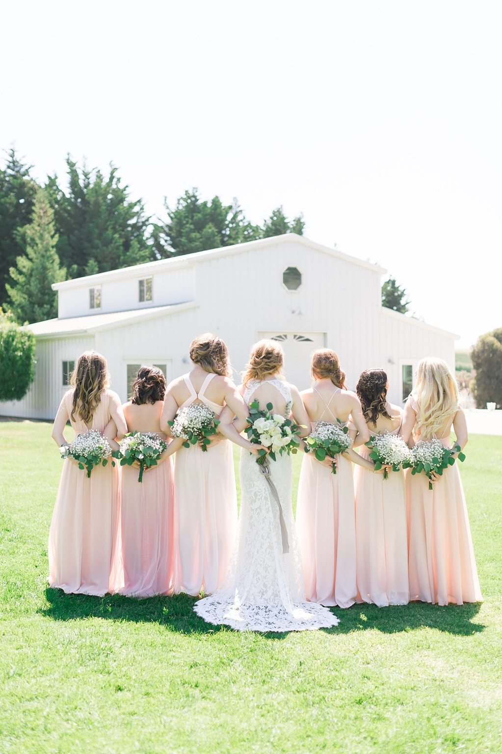 White Barn Inspired Summer Wedding In The Valley of Arroyo Grande, California by Wedding Photographer Madison Ellis. (72)
