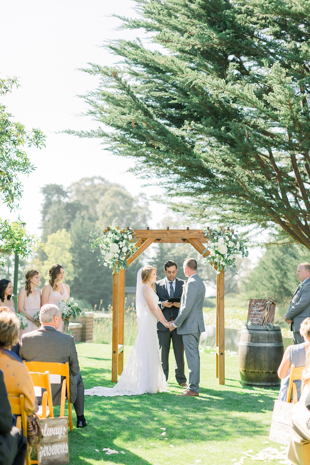 White Barn Inspired Summer Wedding In The Valley of Arroyo Grande, California by Wedding Photographer Madison Ellis. (54)