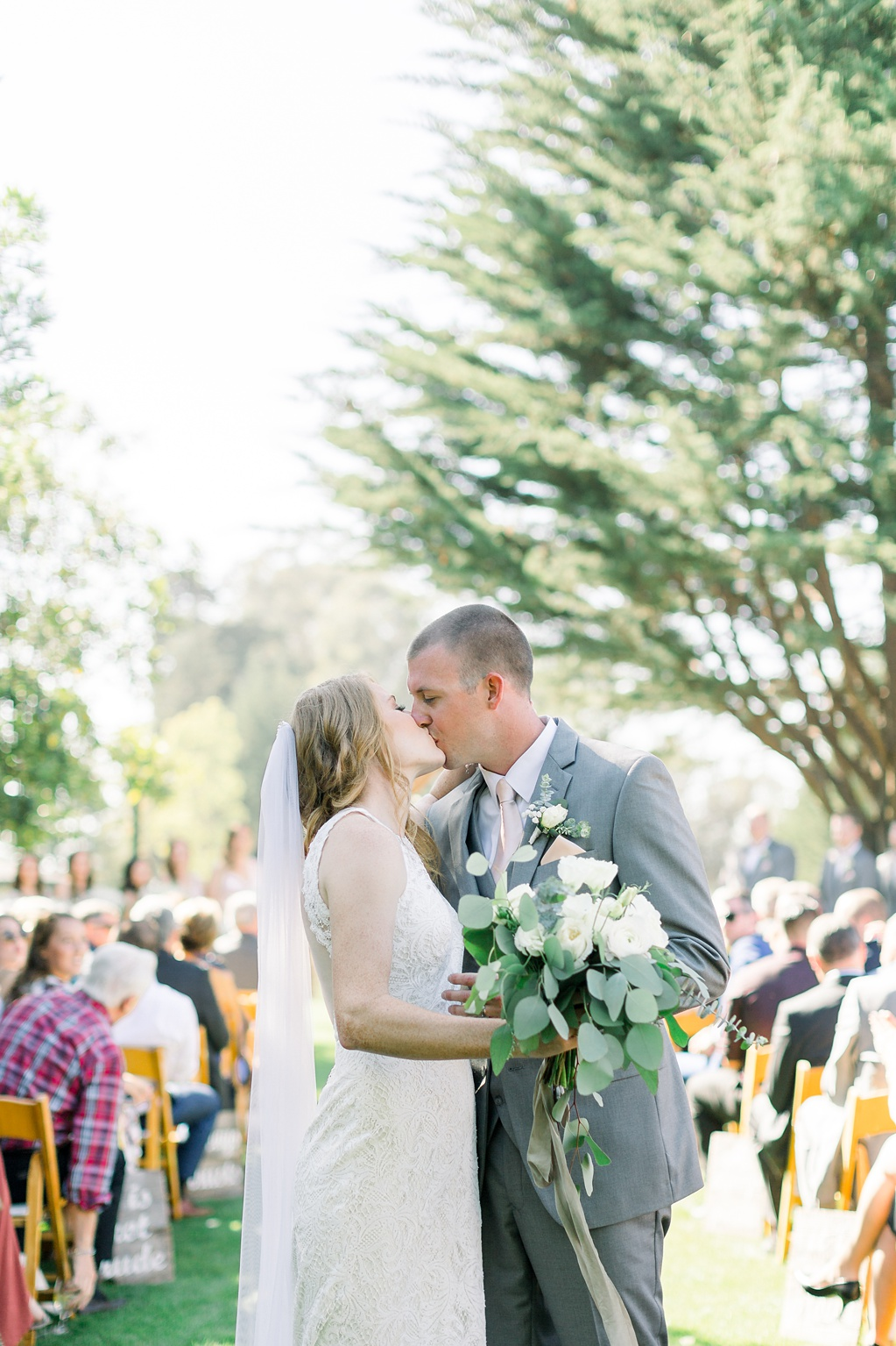 White Barn Inspired Summer Wedding In The Valley of Arroyo Grande, California by Wedding Photographer Madison Ellis. (52)
