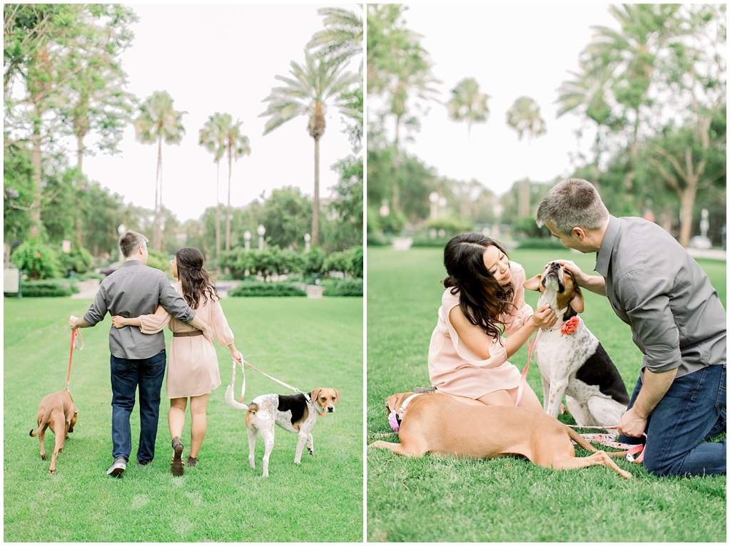 Beautiful at home engagement session in Playa Vista (49)