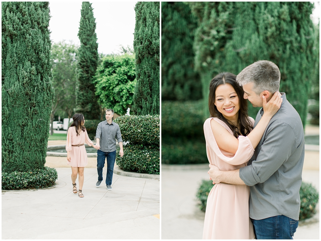 Beautiful at home engagement session in Playa Vista (43)