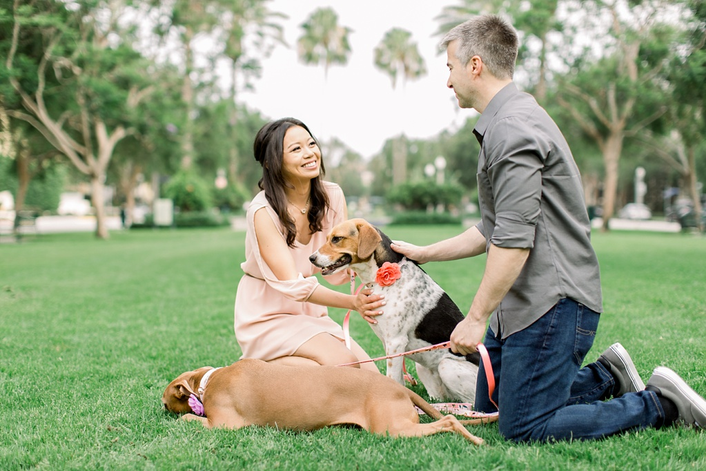 Beautiful at home engagement session in Playa Vista (31)