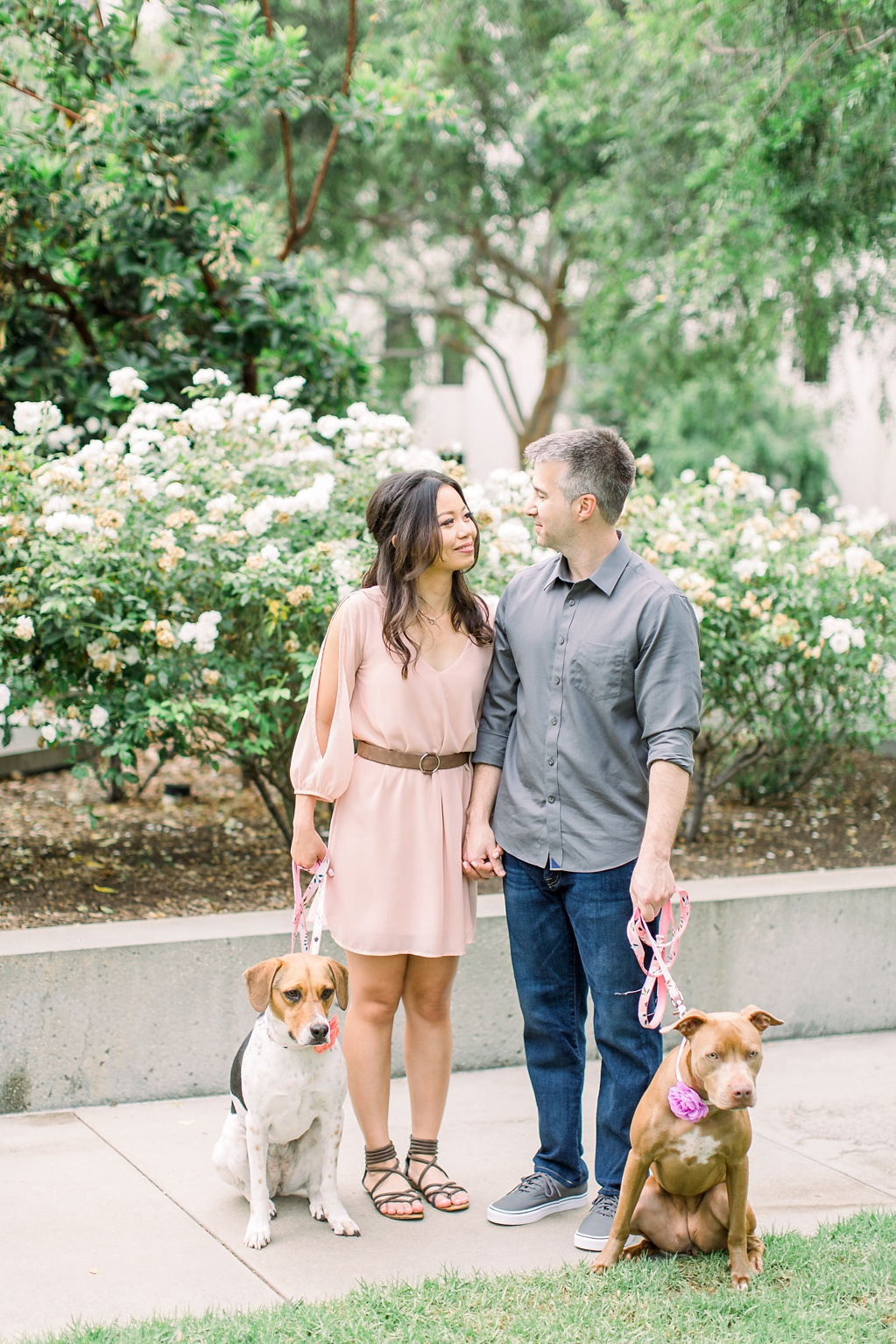 Beautiful at home engagement session in Playa Vista (1)
