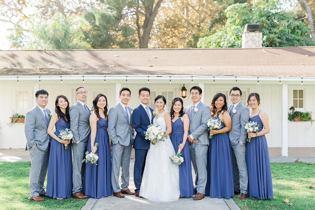 A Periwinkle Blue Inspired Wedding At Calamigos Equestrian In Burbank By Natural Light Photographer Madison Ellis. (51)