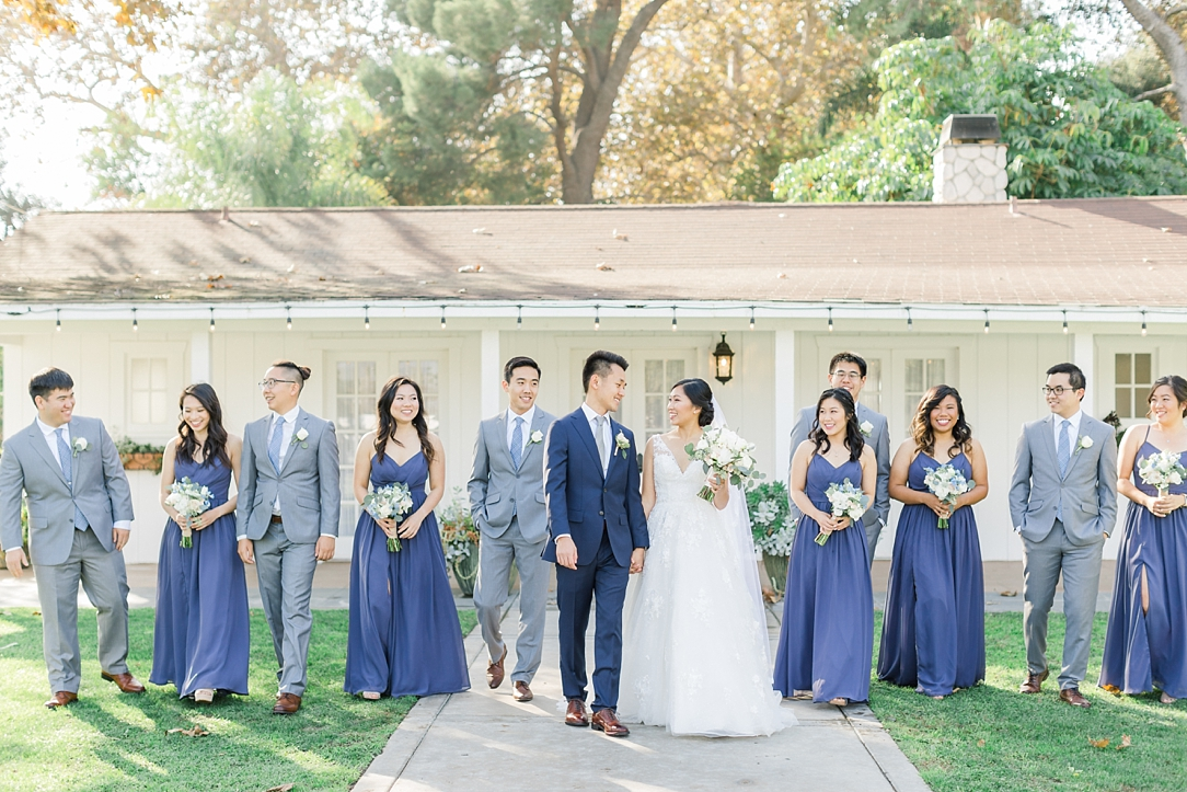 A Periwinkle Blue Inspired Wedding At Calamigos Equestrian In Burbank By Natural Light Photographer Madison Ellis. (49)