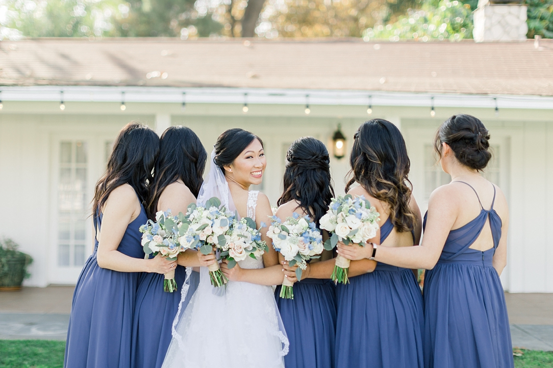A Periwinkle Blue Inspired Wedding At Calamigos Equestrian In Burbank By Natural Light Photographer Madison Ellis. (39)