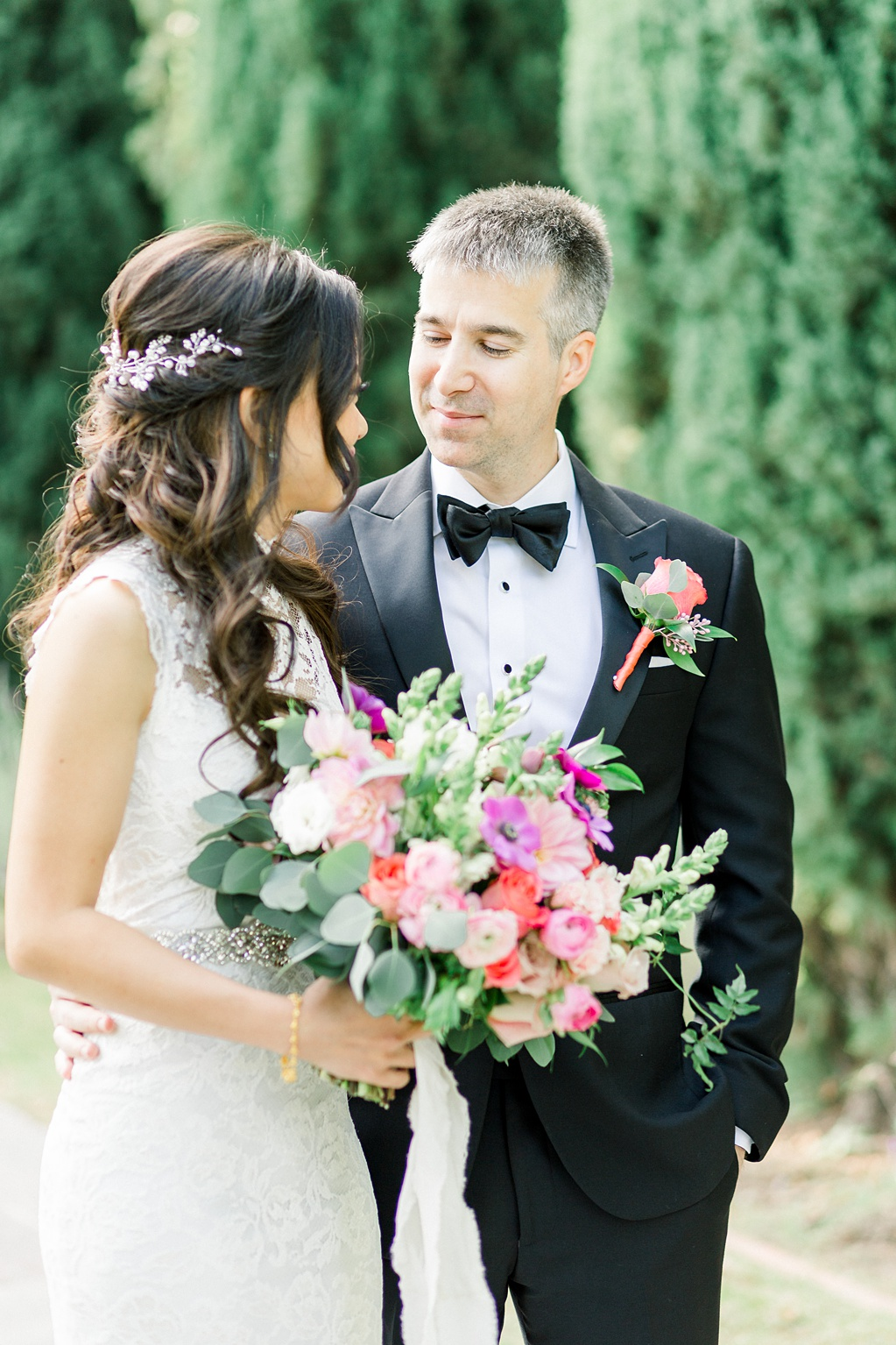 A Garden And European Inspired Greystone Mansion Beverly Hills Wedding by Madison Ellis Photography (49)