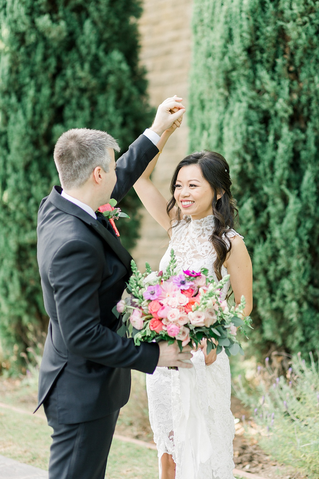 A Garden And European Inspired Greystone Mansion Beverly Hills Wedding by Madison Ellis Photography (45)