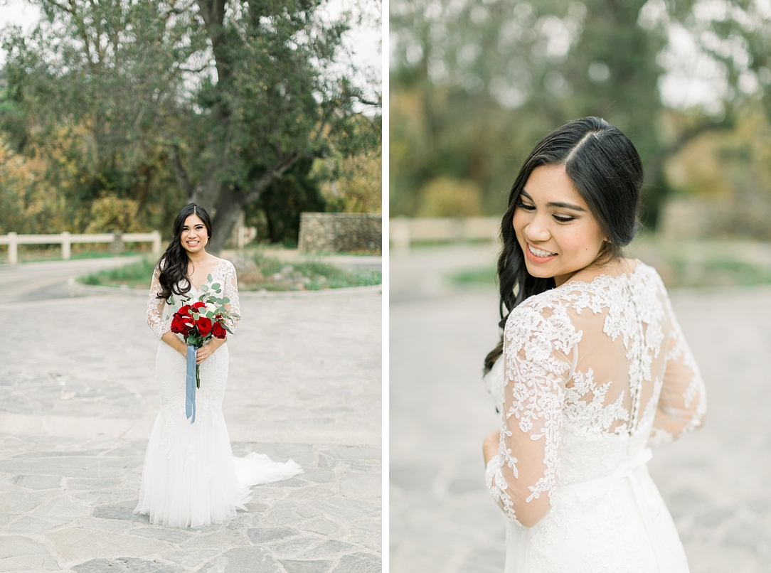 A Vintage Inspired Wedding At Santiago Oaks Regional Park And The Vintage Rose By Natural Light Photographer Madison Ellis Photography. (101)