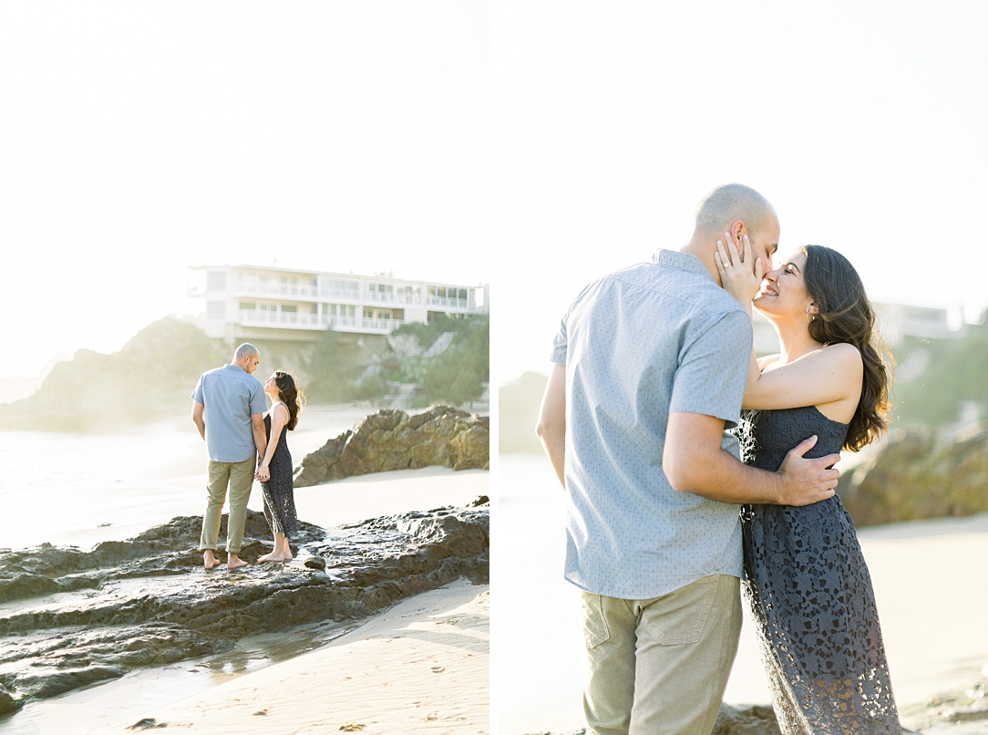 Nautical beach engagement session in Laguna Beach by fine art photographer Madison Ellis (53)