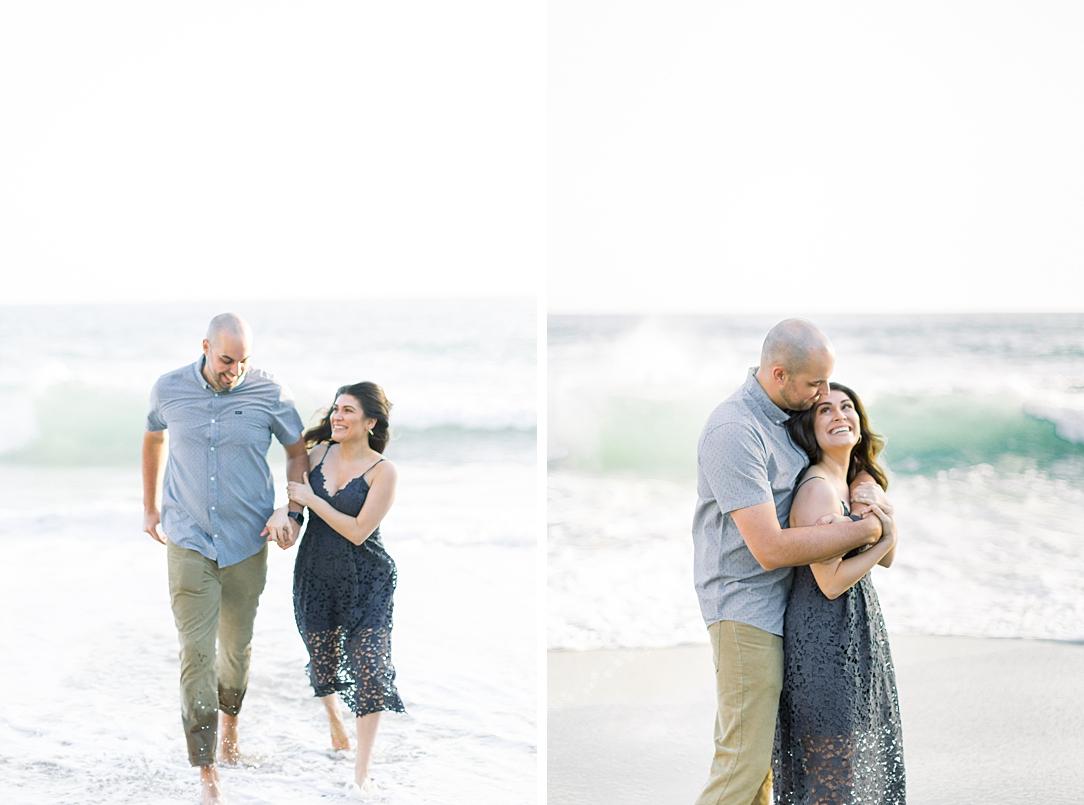 Nautical beach engagement session in Laguna Beach by fine art photographer Madison Ellis (51)