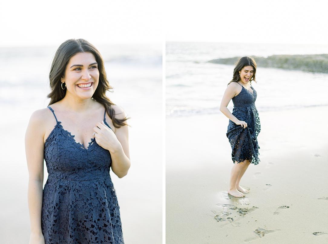 Nautical beach engagement session in Laguna Beach by fine art photographer Madison Ellis (45)