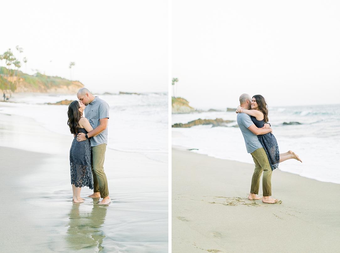 Nautical beach engagement session in Laguna Beach by fine art photographer Madison Ellis (41)