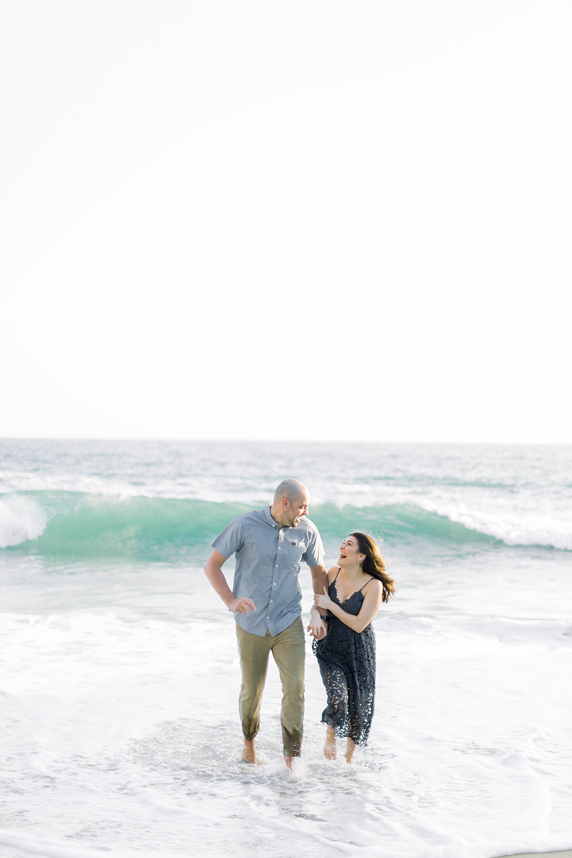 Nautical beach engagement session in Laguna Beach by fine art photographer Madison Ellis (35)