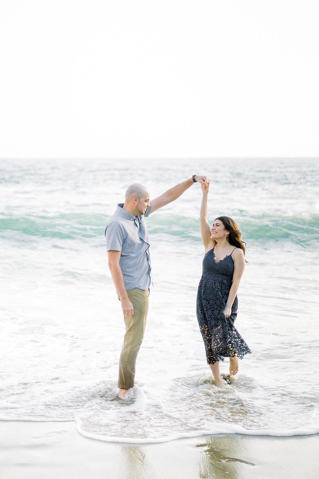 Nautical beach engagement session in Laguna Beach by fine art photographer Madison Ellis (33)
