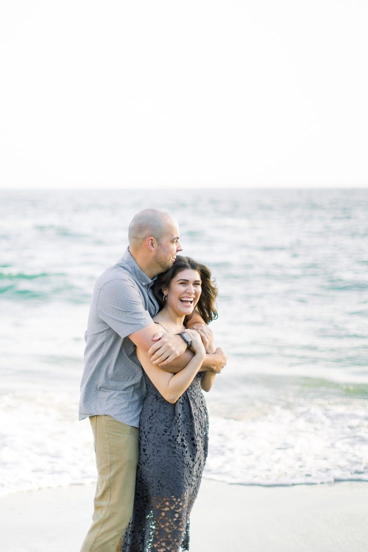 Nautical beach engagement session in Laguna Beach by fine art photographer Madison Ellis (32)