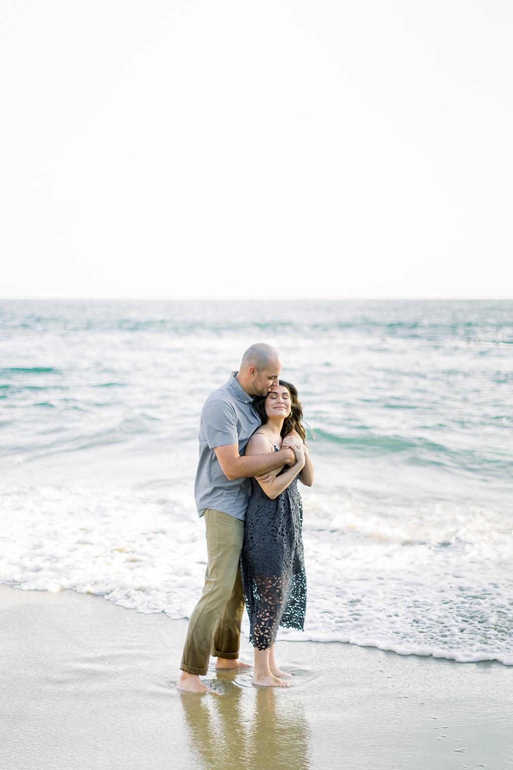 Nautical beach engagement session in Laguna Beach by fine art photographer Madison Ellis (31)
