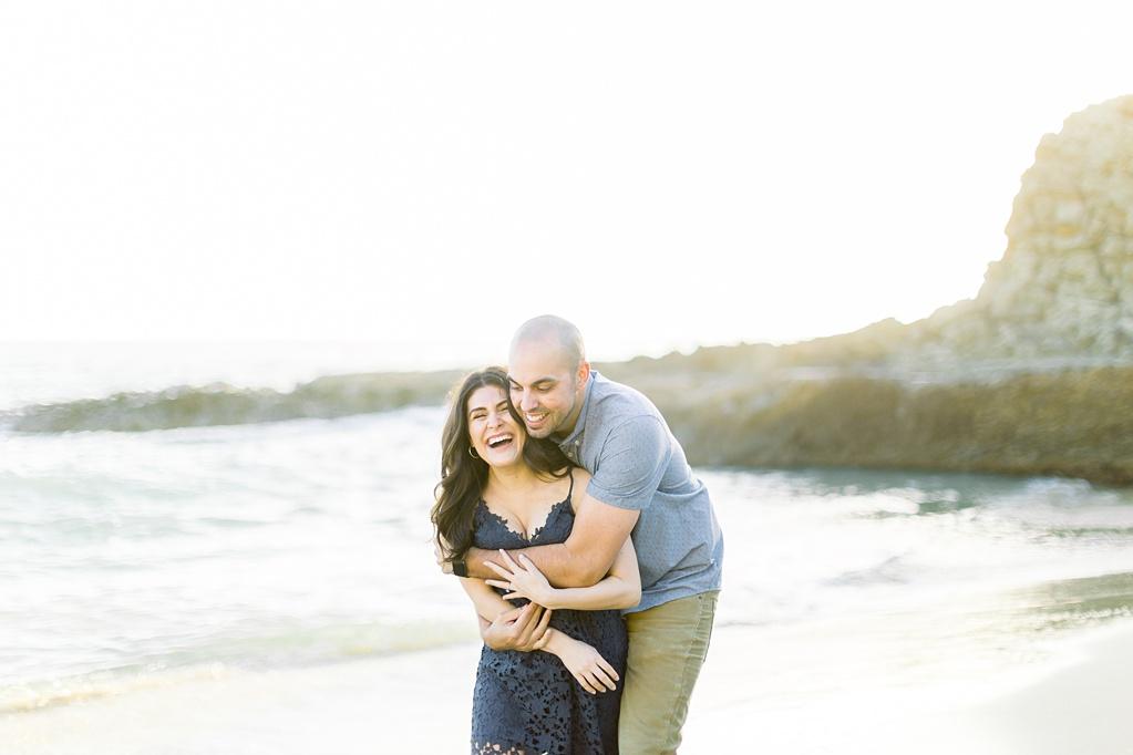 Nautical beach engagement session in Laguna Beach by fine art photographer Madison Ellis (29)