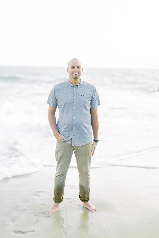 Nautical beach engagement session in Laguna Beach by fine art photographer Madison Ellis (23)