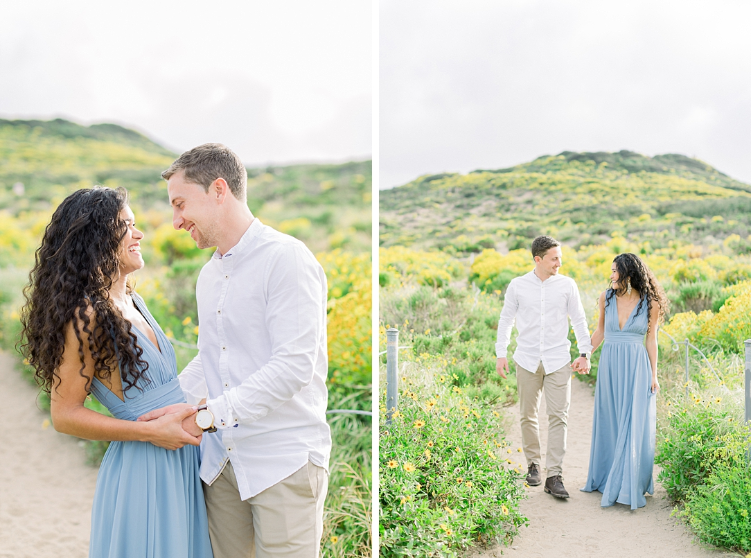 Malibu Cliff Side Engagement Session at Point Dume by Madison Ellis Photography (63)