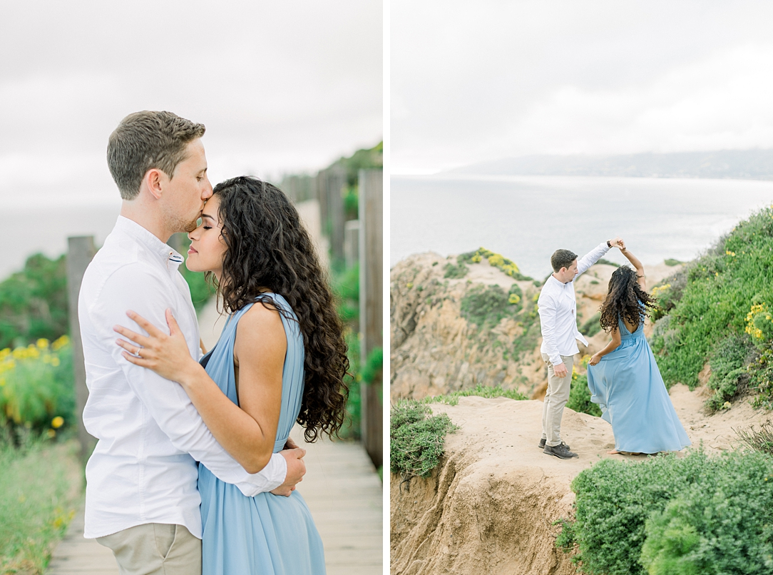Malibu Cliff Side Engagement Session at Point Dume by Madison Ellis Photography (62)