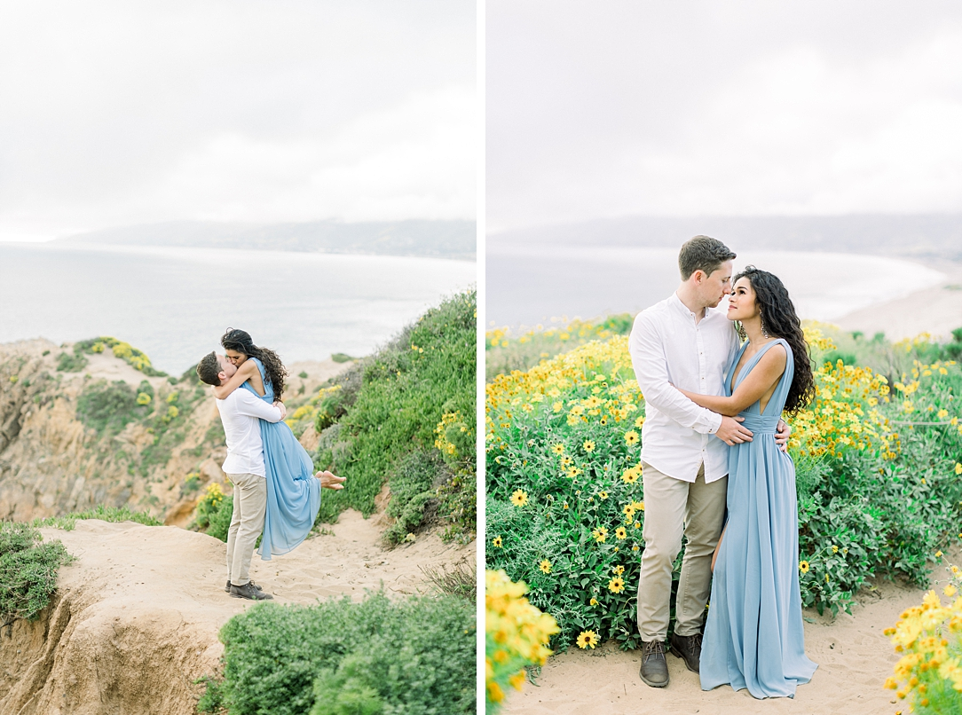 Malibu Cliff Side Engagement Session at Point Dume by Madison Ellis Photography (61)