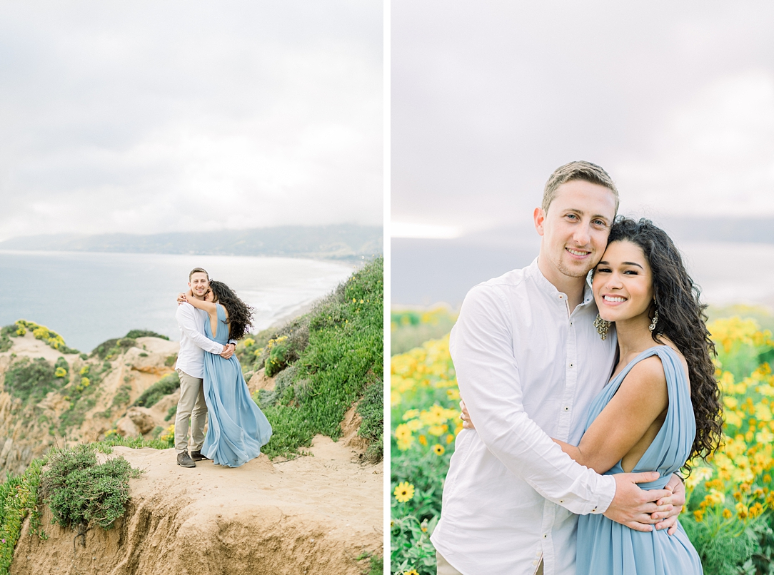 Malibu Cliff Side Engagement Session at Point Dume by Madison Ellis Photography (60)