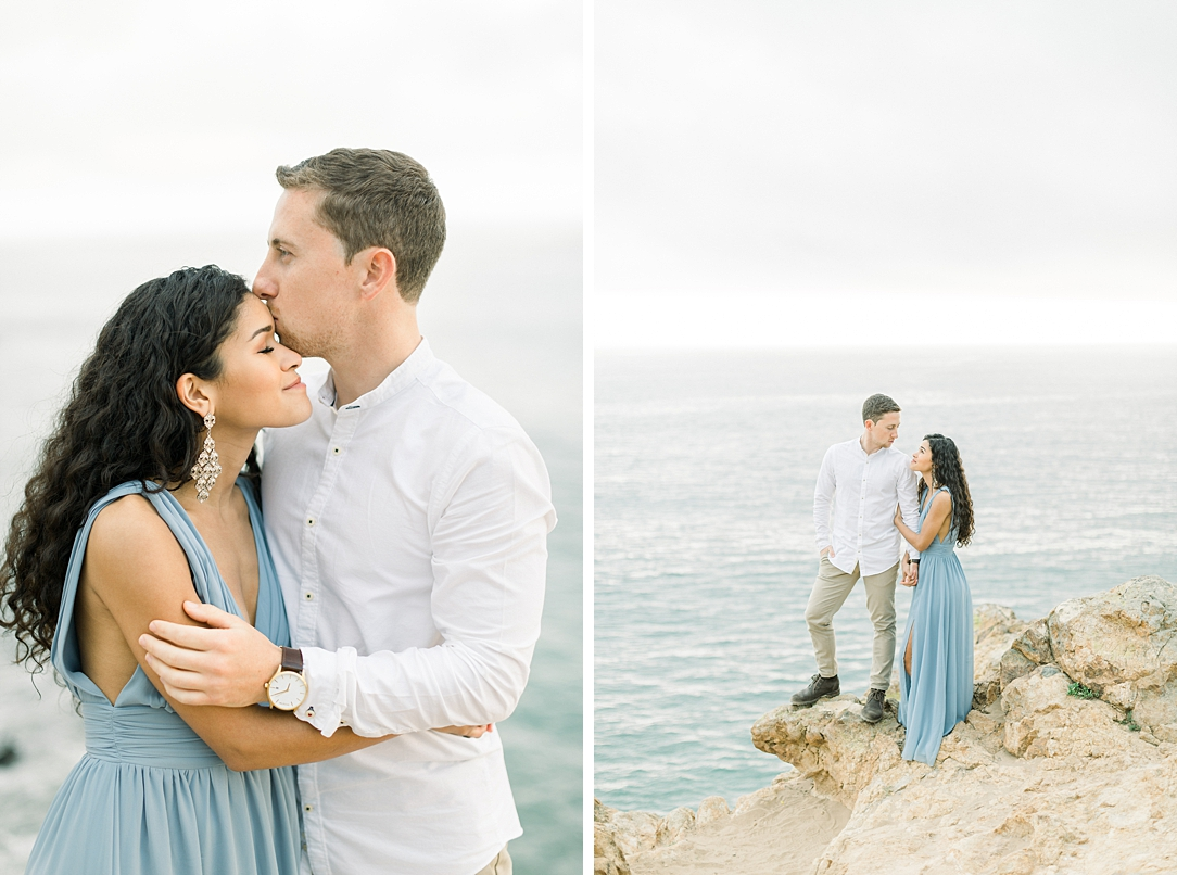 Malibu Cliff Side Engagement Session at Point Dume by Madison Ellis Photography (59)
