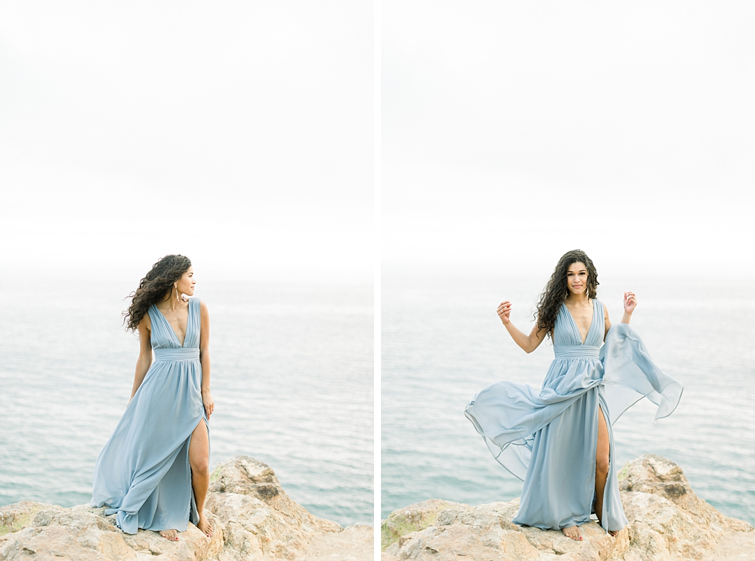 Malibu Cliff Side Engagement Session at Point Dume by Madison Ellis Photography (57)