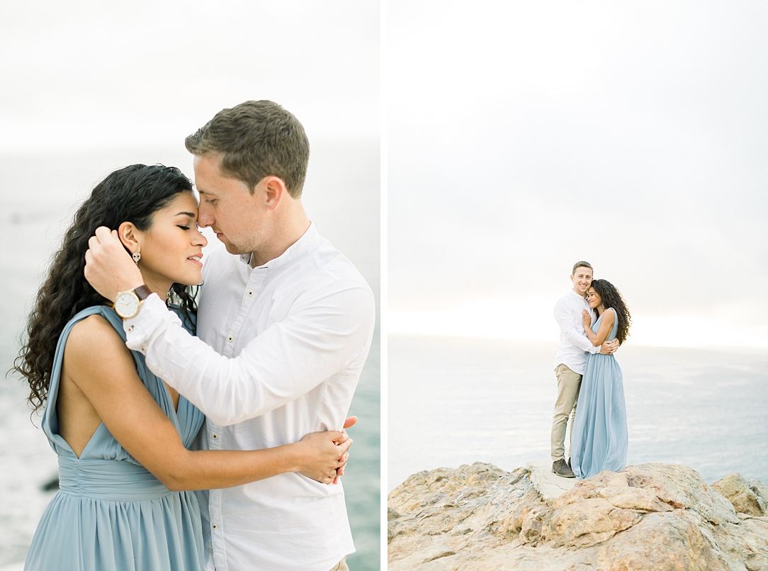 Malibu Cliff Side Engagement Session at Point Dume by Madison Ellis Photography (55)
