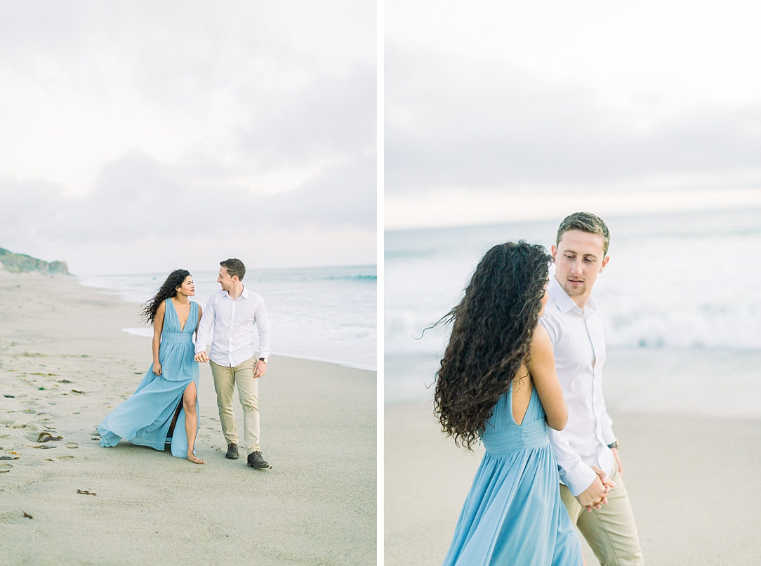 Malibu Cliff Side Engagement Session at Point Dume by Madison Ellis Photography (53)
