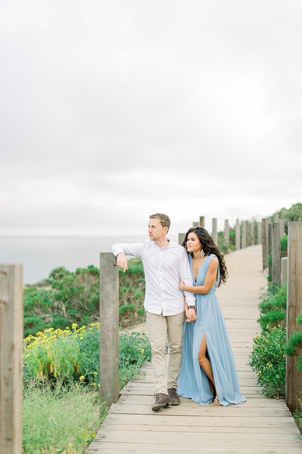 Malibu Cliff Side Engagement Session at Point Dume by Madison Ellis Photography (45)