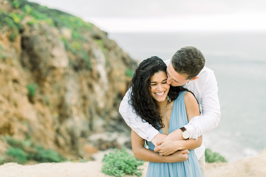 Malibu Cliff Side Engagement Session at Point Dume by Madison Ellis Photography (37)