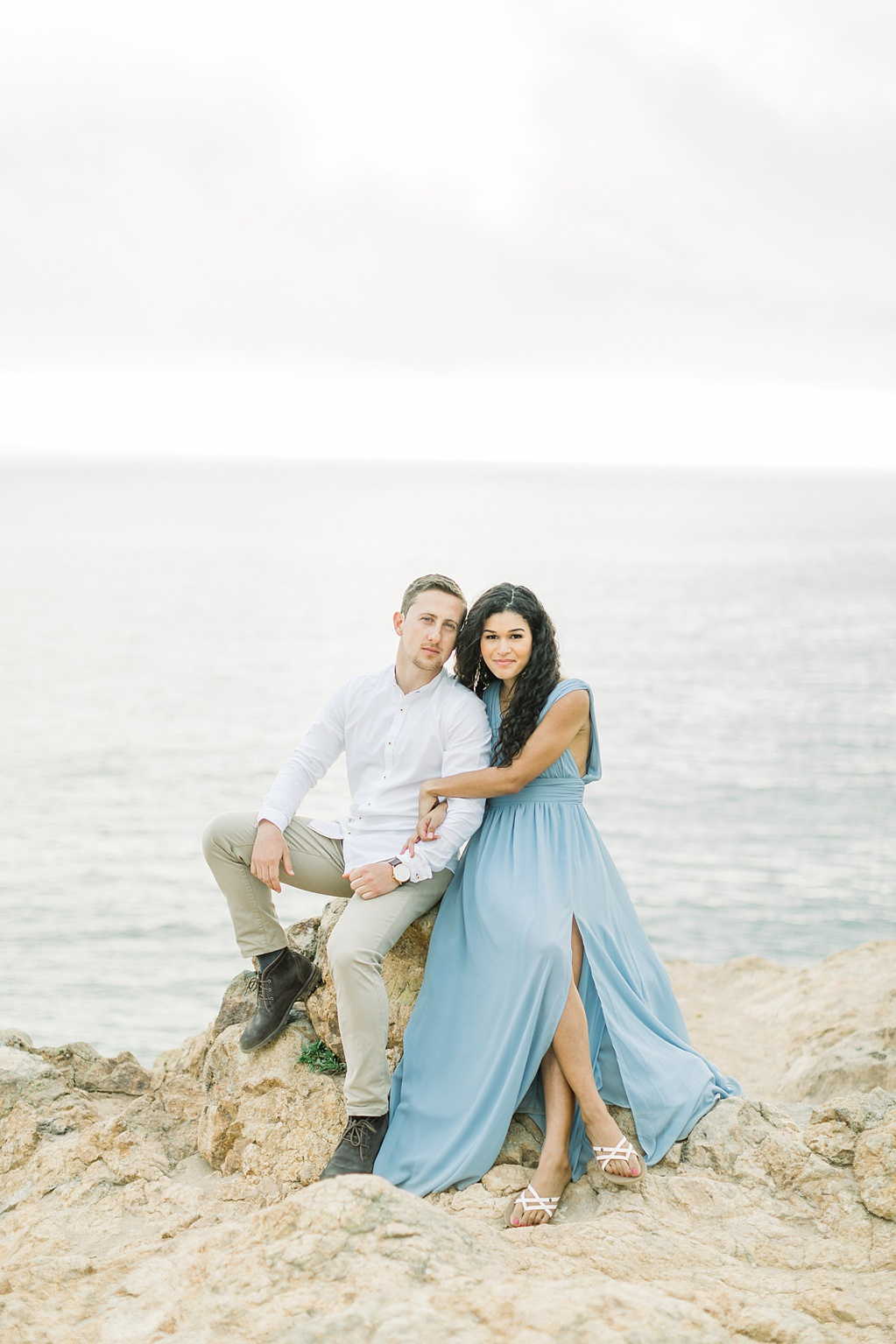 Malibu Cliff Side Engagement Session at Point Dume by Madison Ellis Photography (36)