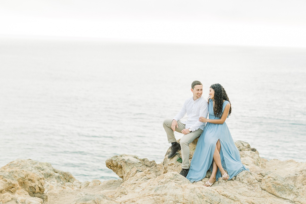 Malibu Cliff Side Engagement Session at Point Dume by Madison Ellis Photography (34)