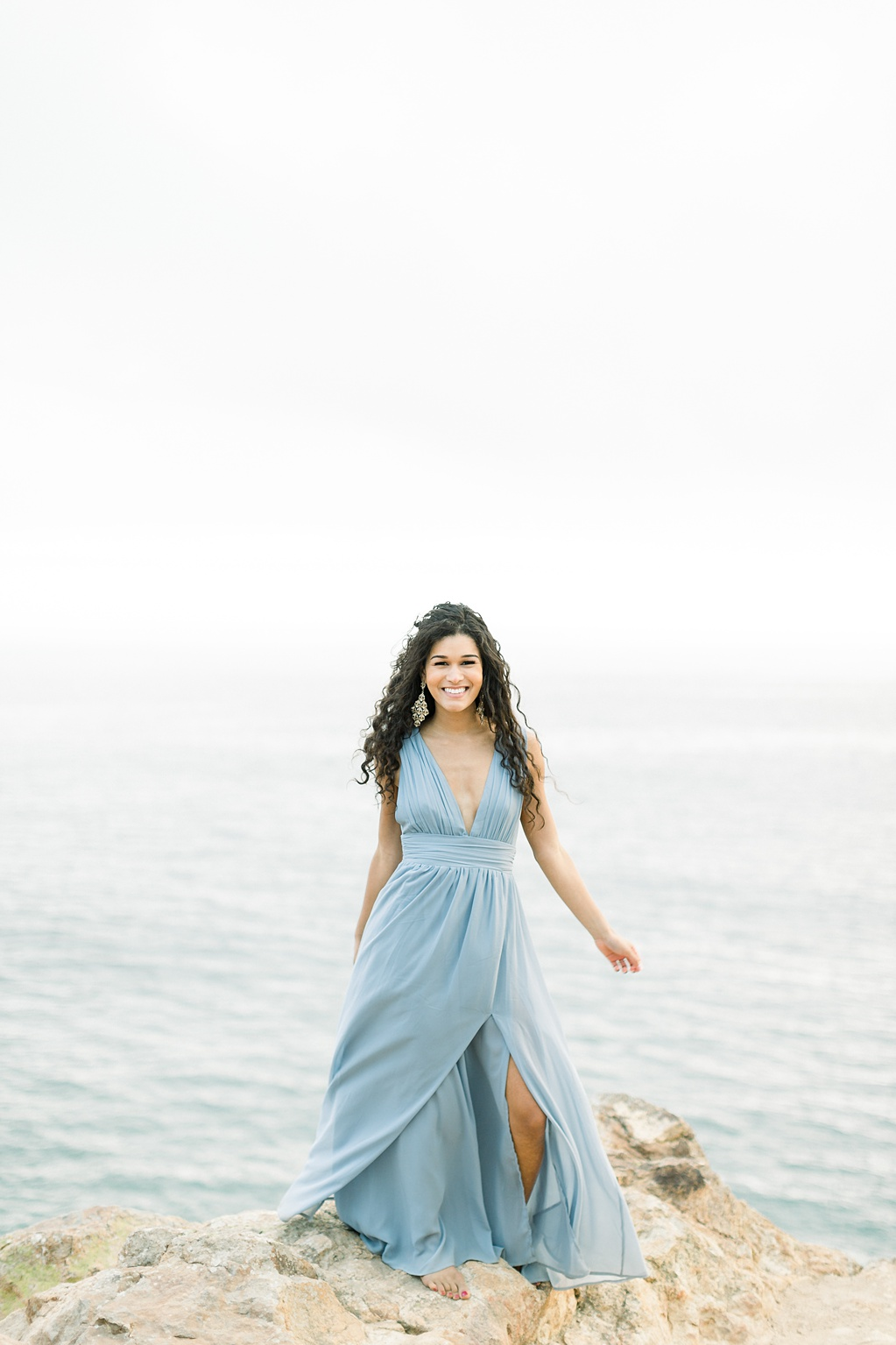 Malibu Cliff Side Engagement Session at Point Dume by Madison Ellis Photography (28)