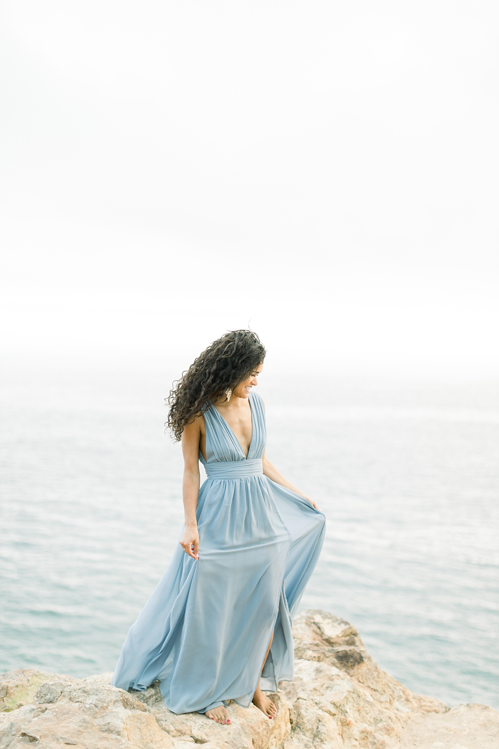 Malibu Cliff Side Engagement Session at Point Dume by Madison Ellis Photography (27)