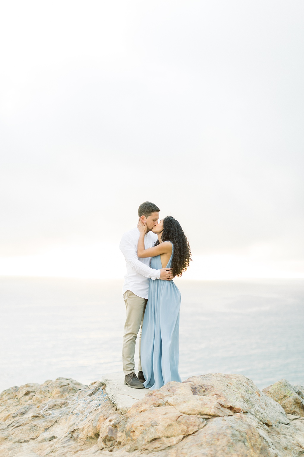 Malibu Cliff Side Engagement Session at Point Dume by Madison Ellis Photography (20)