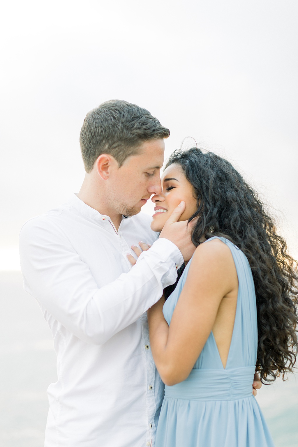 Malibu Cliff Side Engagement Session at Point Dume by Madison Ellis Photography (19)