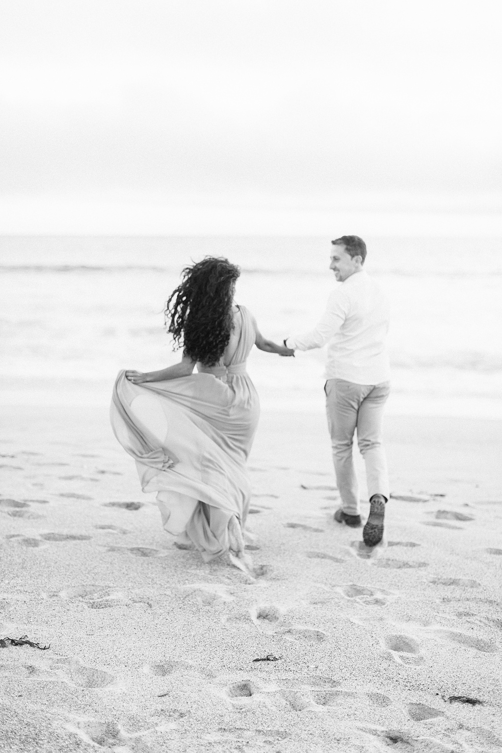 Malibu Cliff Side Engagement Session at Point Dume by Madison Ellis Photography (15)