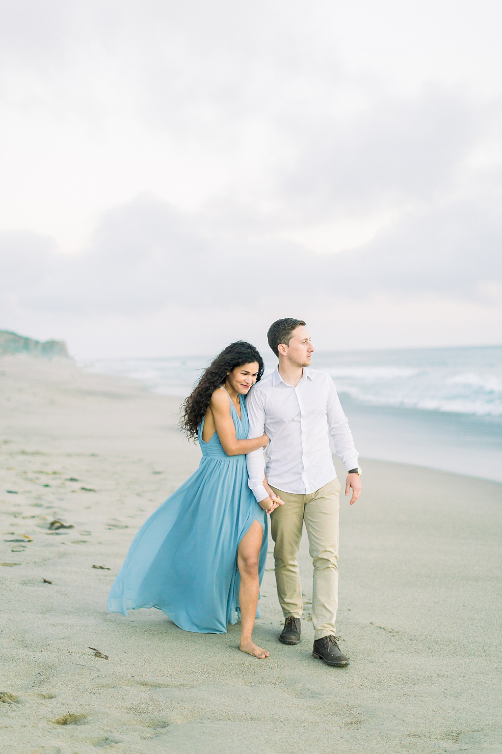 Malibu Cliff Side Engagement Session at Point Dume by Madison Ellis Photography (11)